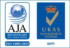 AJA ISO14001/UKAS